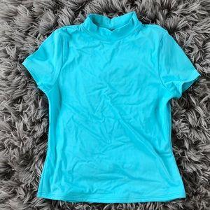 Lands' End Girls Swim Shirt Size 14
